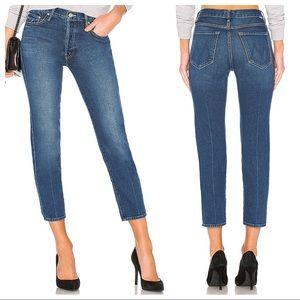 Mother Denim The Saint High Rise Crop Jeans